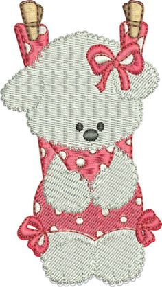 Baby Machine Embroidery Designs Pattern  Bear by mysewcuteboutique, $1.00