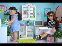 American Girl Doll School! HD WATCH IN HD! - YouTube
