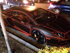 It's a Tron Lamborghini. No, I'm serious.