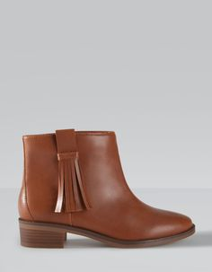 Bottines franges