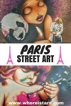 Paris street art in
