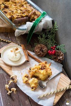 Turn Your Panettone Into Mouthwatering Bread Pudding Perfect For The Holidays
