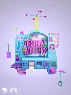 DESIGN MATTERS_COMPUTER ARTS by Noelia Lozano, via Behance