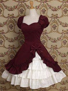 Vermeil Cotton Classic Lolita Dress