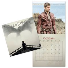 Game of Thrones Wall Calendar - $15 Game Of Thrones Gifts, Game Of Thrones Fans, Game Of Thrones Merchandise, Used Video Games, Jaime Lannister, Movie Tv, Calendar, Wall, Books