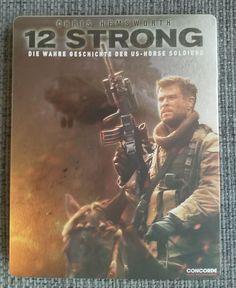 12 Strong Steelbook aus Deutschland Chris Hemsworth, Strong, Movies, Movie Posters, Movie, True Stories, Nice Asses, Films, Film Poster