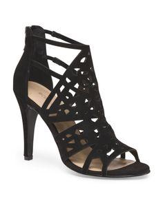 Sonyah High Heel Sandals - GREAT version of a cage heel with a 'reasonable' heel height.