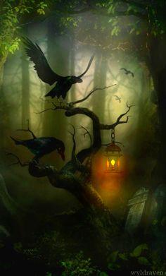 Ravens Hollow by *wyldraven on deviantART