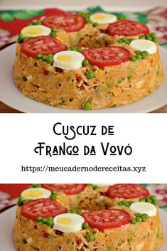 Brazillian Food, Cooking Recipes, Healthy Recipes, Quiche, Carne, Fruits And Veggies, Caramel Apples, Drinking Tea, Salmon Burgers