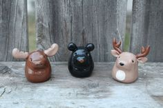 Woodland Creatures Woodland Animals by WhiteWillowBoutique