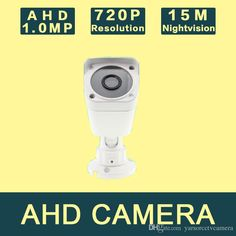 Best 720P 1/4'' CMOS Sensor 3.6/6mm Lens AHD Camera 1.0MP Indoor / Outdoor Waterproof Security Camera Online with $35.35/Piece on Yarsorcctvcamera's Store | DHgate.com