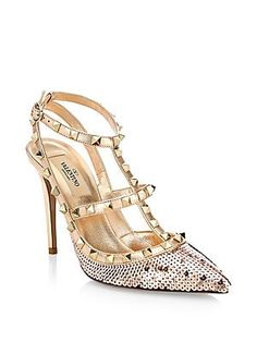 Shoes for every Rock-star Princess out there!fantastic Valentino Garavani  Rockstud Sequin Pumps ff148abcf620