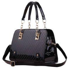 Brilliant Design Tote Bag in Black