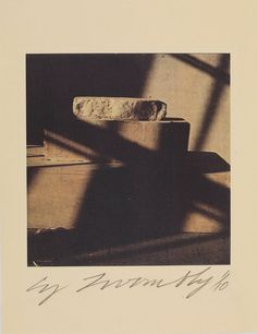 "alicesarahb: "" CY TWOMBLY Pasargade, 1994 (Gaeta) Color dry-print Unframed: 11 x 8 inches x cm) Ed. Robert Rauschenberg, Cy Twombly, Gagosian Gallery, Pictures To Draw, Life Photography, Interior Photography, Light And Shadow, Abstract Expressionism, Still Life"