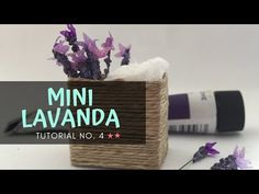 """(9) DIY """"Flores de lavanda"""" escala 1:12 Dificultad: media ** - YouTube Mini Plants, Miniature Plants, Flower Pictures, Planting Flowers, Lavender, Diy, Lettering, Sylvanian Families, Hydrangeas"""