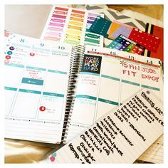 Was one of the lucky few to receive the new @erincondren 2015/2016 Life Planner! #eclifeplanner Full review is up on the blog ❤️itsvmfitness.com you can also go there and there's a link for $10 off!! . Currently planning out my packing list for my trip to Cali on Thursday to meet the gang @obese_to_beast @thicksolidtight @chelsealifts  and then SAN JOSE FIT EXPO!!!!  hope to see a bunch of you there!!! I'll be chilling around the @questnutrition booth probably!