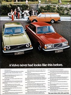 Volvo 240 and 260 (1975).