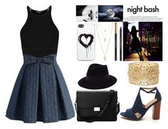 """""""night bash"""" by jeesxx ❤ liked on Polyvore featuring moda, Chicwish, Charlotte Russe, Aspinal of London, Louis Vuitton, Forever 21, Maison Michel i Zero Gravity"""