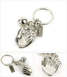 Perfect Father's Day Gift (Coach baseball keychain)!!