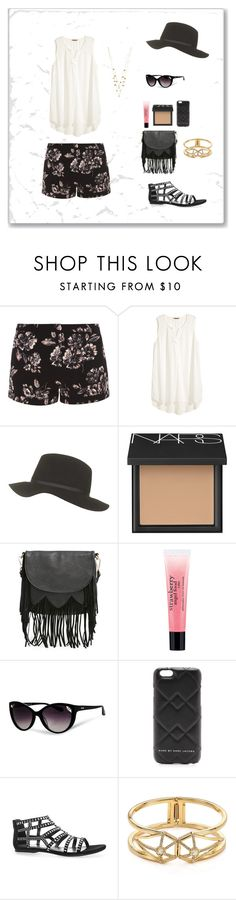 """Summertime"" by oksana-kolesnyk ❤ liked on Polyvore featuring мода, Dorothy Perkins, H&M, Topshop, NARS Cosmetics, Sole Society, philosophy, Moschino, Marc by Marc Jacobs и Avenue"