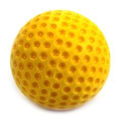 9-inch Macgregor Dimpled Baseballs one Dozen Yellow