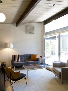 Hunter & Casie's Eichler Home House Tour | Apartment Therapy