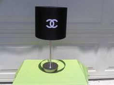 Chanel Inspired Lamp. $45.00, via Etsy.