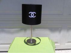 Chanel Inspired Lamp. $45.00, via Etsy.