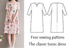 Lots of free pdf sewing patterns
