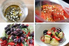 """This recipe is a deliciously fresh dish, perfect for summer time grilling. Lightly marinated salmon, along with a simple summer salad of tomato, cucumber, and kalamata olives. For this recipe we marinated the salmon for a few hours in """"Hayley's Almost Famous Marinade"""". This marinade, simply consi..."""