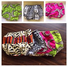 African print Baby diaper cover - bloomers ankara kente african fabric on Etsy. by corrine African Babies, African Children, African Inspired Fashion, African Print Fashion, African Prints, African Attire, African Dress, Couture Bb, Baby Bloomers