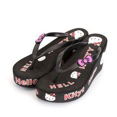 Cheap Estate femminile sandali ciao kitty sandali con zeppa di modo sandali alti talloni delle donne dei sandali pistoni della spiaggia di vibrazione flopsplatform LX095, Compro Qualità Sandali delle donne direttamente da fornitori della Cina:      Tipo dell'articolo:  Donne infradito        Colore: nero rosso blu rosa      Dimensioni: 5, 6, 6.5, 7.5, 8.5
