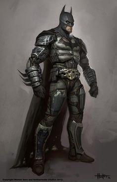 batman arkham knight art batman concept art