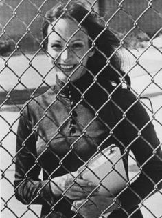 Susan Atkins in prison, early 1980s.