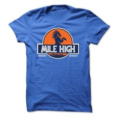 Awesome Football Lovers Tee Shirts Gift for you or your family member and your friend:  Mile High Shirt Tee Shirts T-Shirts