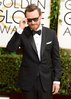 Michael Fassbender. | The 23 Hottest Bearded Men In Britain i love him