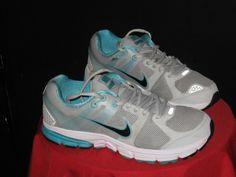Women's Nike Structure Triax+ 15  Running Shoes Sz9 Plat/Black/Turq #Nike #Running #gym #fitness