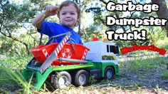 Garbage Truck Videos For Children l Dickie Toy Recycling Container Garba...