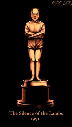 """Poster honors all Best Picture winners. The official poster for the annual Academy Awards, to be held on June remembers all the winners of the category """"Best Film"""", with custom figurines. Oscar Best Picture, Best Picture Winners, Love Movie, Movie Tv, Olly Moss, Sir Anthony Hopkins, Horror Films, Horror Icons, Stuff And Thangs"""