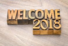 3D Welcome 2018 New Year Image Wishes