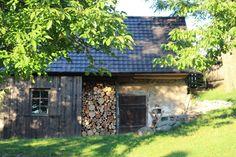 Cabin, Autumn, House Styles, Home Decor, Decoration Home, Fall Season, Room Decor, Cabins, Fall