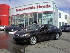 2008 Honda Accord (Black -- Mileage: 52,152 km)