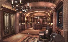 """The """"What Budget?"""" wine cellar..."""