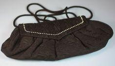 Whiting and Davis Fabric Evening Handbag Purse by PastSplendors