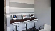 iPad Bar w/ Painted Accent Wall petrabuildersinc.com