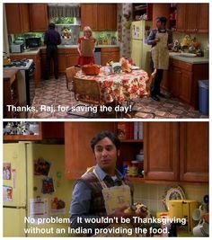 Why Raj is my favorite.