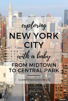 A mild winter day in New York City, exploring from Midtown to Central Park with a baby // Family Travel | Travel with Kids | Holidays in NYC