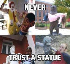 Statues lol