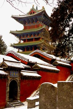 Shaolin Temple, Henan Province (by KelSquire.GlobeCaptures)  All things China