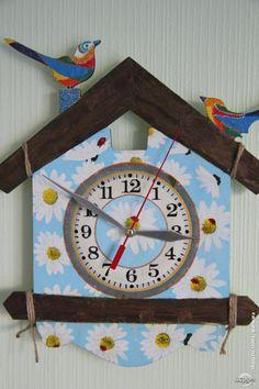 Декупаж - Сайт любителей декупажа - DCPG.RU | Декупажная эстафета Click on photo to see more! Нажмите на фото чтобы увидеть больше! decoupage art craft handmade home decor DIY do it yourself clock